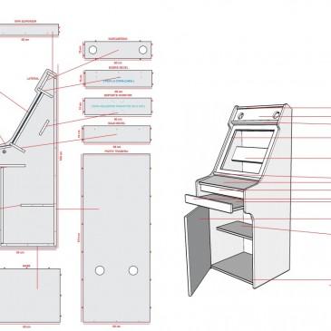 Alejandro verdegay arcos manualidades for Mueble maquina recreativa